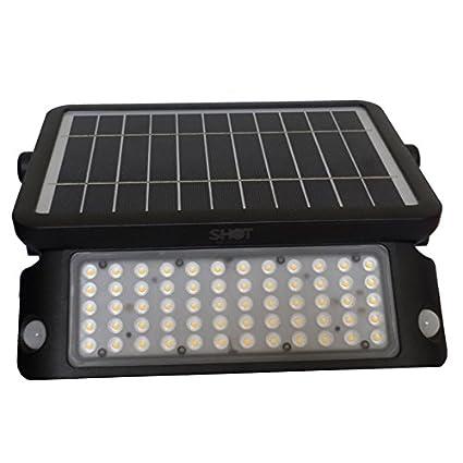 botlight Faro LED con Panel Solar Sensor de Movimiento 10 W luz Natural 4000 K