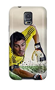 Awesome Iker Casilla Flip Case With Fashion Design For Galaxy S5
