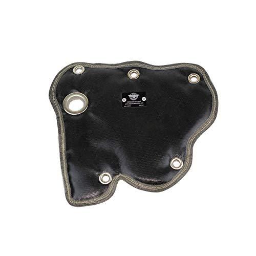 PTP Fiat 500 Turbo / Abarth Turbo Blanket / Heat Shield - Black (Best Exhaust For Abarth 500)