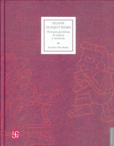 Relatos en rojo y negro. Historias pictóricas de aztecas y mixtecos
