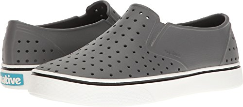 Native Shoes Miles Water Shoe, Dublin Grey/Shell White, 6 Men's (8 B US Women's) M US -