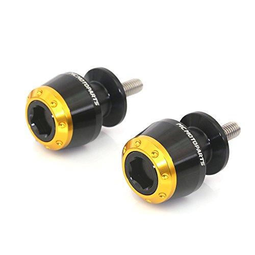 ATOM Gold 8MM CNC Swingarm Spools For Suzuki GSXR600 GSXR750 GSXR1000 GSX-S1000 2015-2017 2018 2019 GSX-S 750 1000 SV650 SV1000 Bking GSXR1300 GSX1300R GSX