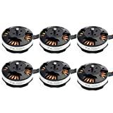 Drone Repair Parts - Tarot 4006 / 620KV Multiaxial Brushless Motor TL68P02 for RC DIY Quadcopters Multicopters Drone, Tarot FY680 Pro Spare Parts (6 Pcs)