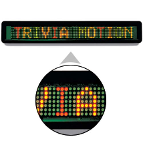 LED Message Board 1 Line Display in Multi-Color by Message Board