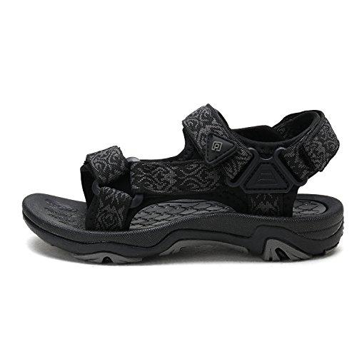 DREAM PAIRS Little Kid 170892-K Black Outdoor Summer Sandals Size 13 M US Little Kid by DREAM PAIRS (Image #1)