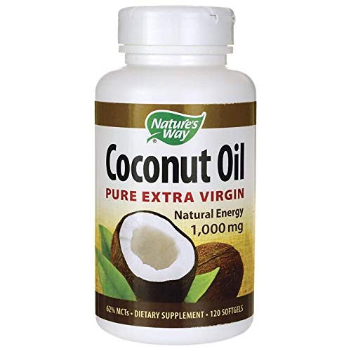 - Nature's Way Coconut Oil Soft Gels, 120 Count