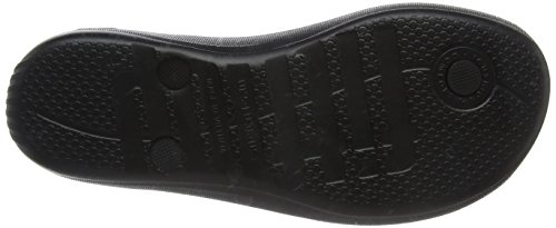 Fitflop Womens Iqushion Super-Ergonomic Flip-Flops All Black 6WwdEs0qZ