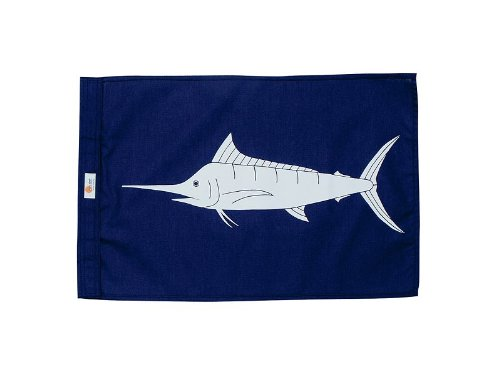 Sun Dot Capture Flags - Blue Marlin (Blue Flag) (Fish Flag Release)