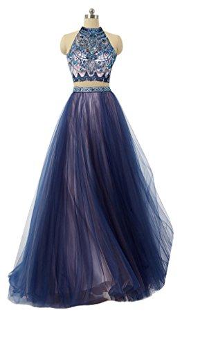 halter tulle dress - 5