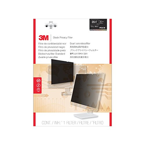3M Privacy Filter for Widescreen Desktop LCD Monitor 20.1
