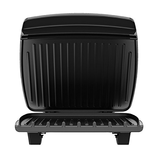 George Foreman 8-Serving Classic Plate Grill and Panini Press, Black, GR380FB by George Foreman (Image #7)