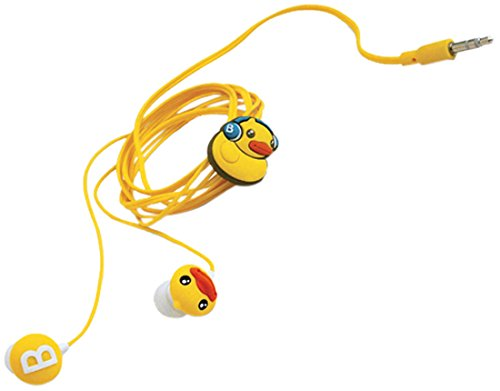 B.Duck Earbuds Yellow Semk 1801450