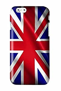 UK United Kingdom Snap on Plastic Case Cover Compatible with Apple iPhone 6 and 6s