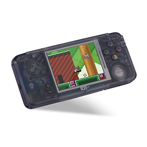 NEW Crystal Black Revo K101 Plus Emulator Game Handheld - In Stock