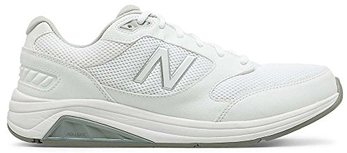 New Balance Men's Mens 928v3 Walking Shoe Walking Shoe, White/White, 14 4E US