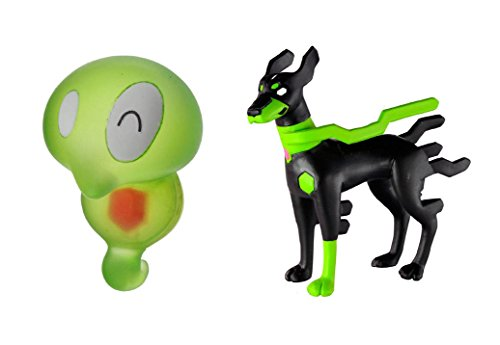 Takaratomy Sun & Moon Mini Figure Set of 2 - Puni-chan (MC-073), Zygarde 10 Percent (SP-40)