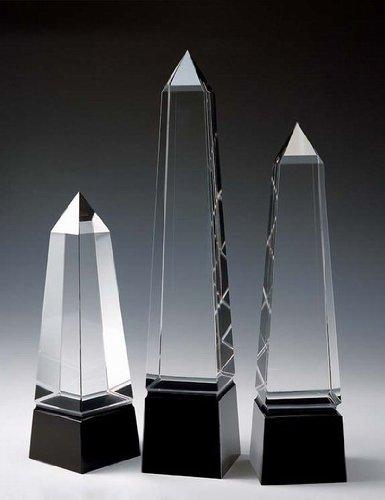 - Eminence Obelisk Crystal Award - Small