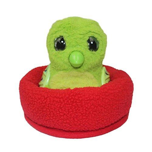 (LtrottedJ EggHead Bed Nest Nesting Fleece Egg Holder Accessories (Red))