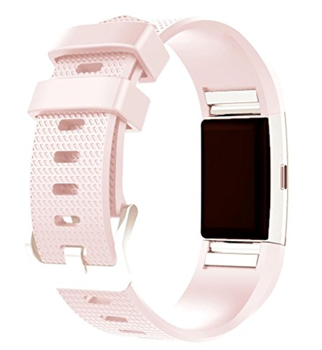 Pink 2 Strap - For Fitbit Charge 2 Bands , HP95(TM) Replacement New Fashion Sports Silicone Bracelet Strap Band For Fitbit Charge 2 (Pink)
