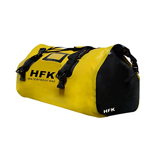 HFK 66L  Waterproof Bag Expedition Dry Duffel Bag Motorcycle Luggage For Travel ,Sports, Cycling,Hiking,Camping