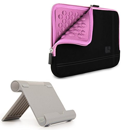 All Suede Tablet Sleeve Kindle Fire 7 Inch 8 Inch + Kindle Tablet Stand