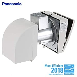 Panasonic FV-01WS2 0.3-Sone 10 CFM Energy Star Bathroom Fan, White
