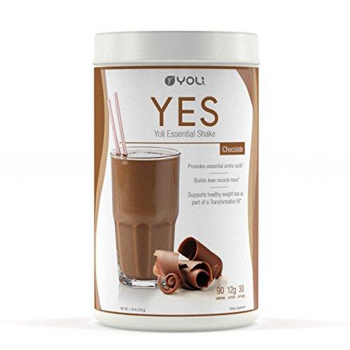 Yoli YES Protein Shake Canister (Chocolate) by Yoli LLC by Yoli