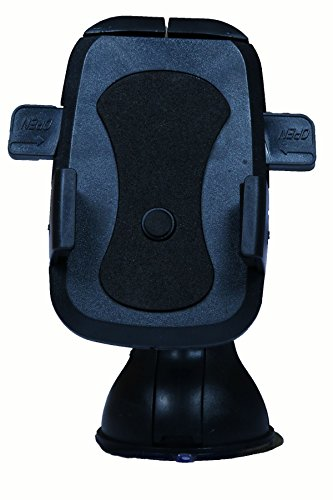 Shengshou Mobile Holder For Car for Samsung / Apple / Universal Mobile(Black & Blue)