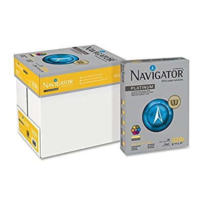 "Navigator - Multipurpose Paper,32lb,99 GE/1120 ISO,8-1/2""x11"",2000/CT,WE, Sold as 1 Carton, SNA NPL1132"