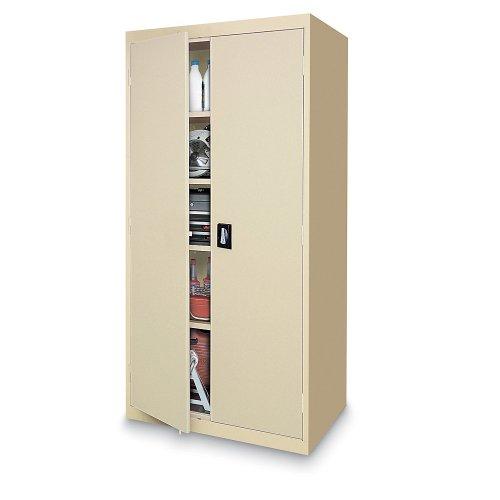 (Sandusky Lee EA4R362472-02 Storage Cabinet with Recessed Handle, 36