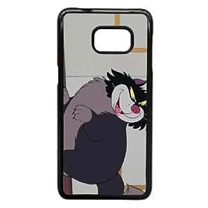 Samsung Galaxy Note 5 Edge Phone Case Black Cinderella Lucifer the Cat KJI8497096