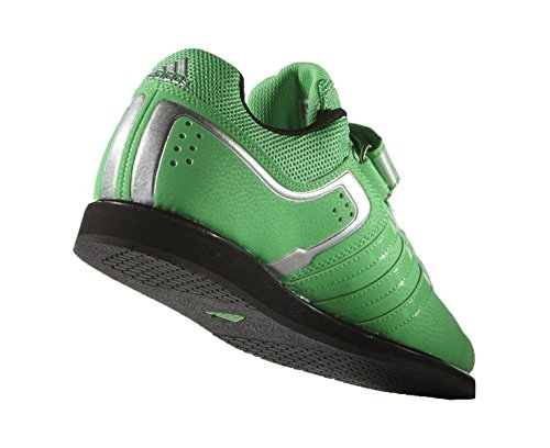 Uk6 2 D'haltrophilie Powerlift Lime Adidas Chaussure qx0wAHX