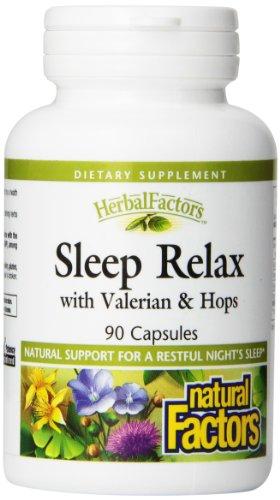 Природные факторы сна Relax капсулы, 90-Count