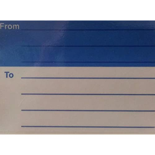 high quality avery from to light blue mailing labels w guide lines