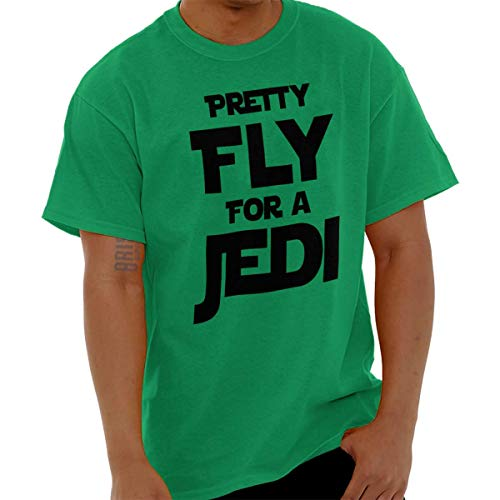 Pretty Fly for A Space Fighter Classic Nerd T Shirt Tee Irish Green