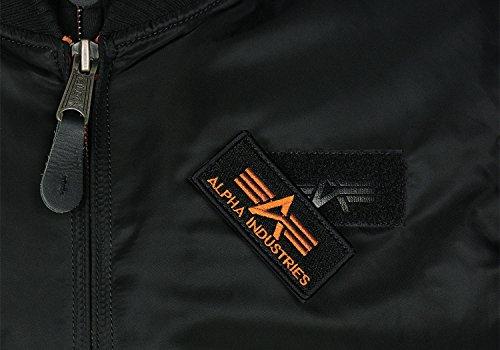 SE Alpha Tec Industries Orange Jacke MA Black D 1 x46fqx