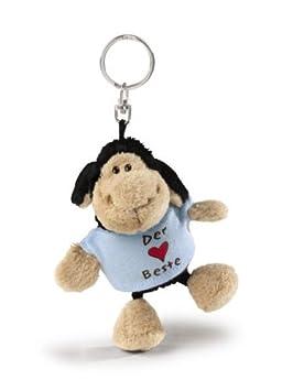 Nici 31536 - Llavero de oveja negra con camiseta Papa ist ...