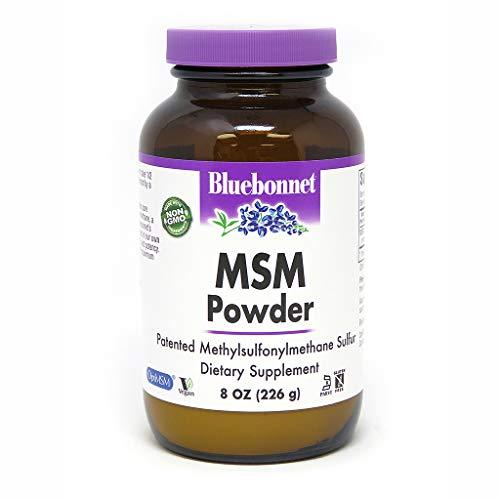 BlueBonnet MSM Powder, 8 Ounces - Msm 8 Oz Powder