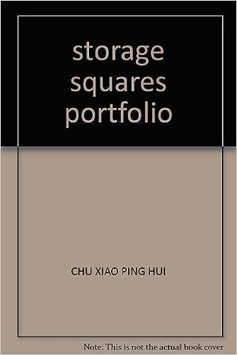 Book storage squares portfolio