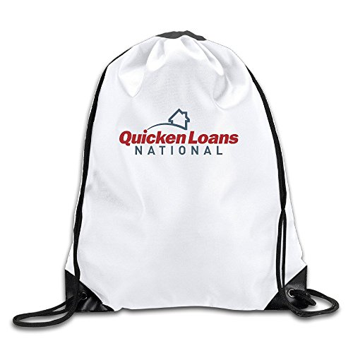 quicken-loans-national-lightweight-drawstring-bags-backpack-white-size-one-size