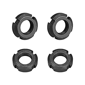 M16x1.5mm Slotted Round Nuts with Four retaining Slots 4 Pieces