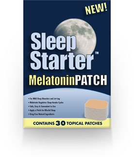 Dormir Starter mélatonine Patch - Fourniture de 30 jours
