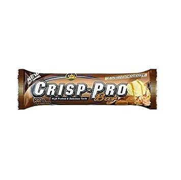 All Stars Crisp-Pro Bar Vanilla-Caramel - 24 Barras: Amazon.es: Salud y cuidado personal