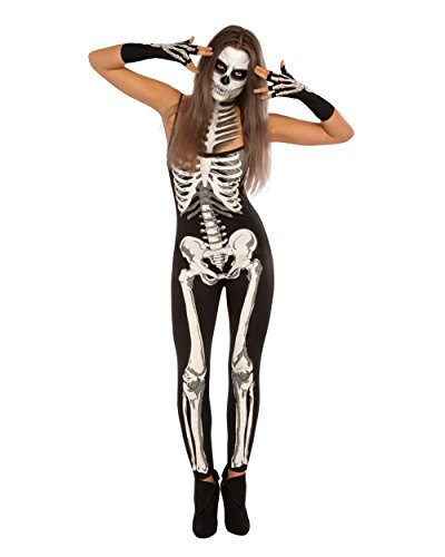 Rubie's Women's Suzy Skeleton Costume, Multi, Large (Womens Skeleton Costume)