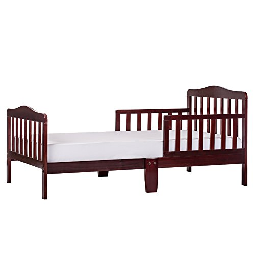 Dream On Me, Classic Design Toddler Bed (Solid Pecan)