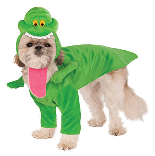 Et Ghost Costume (Ghostbusters Slimer Dog Costume, Small)