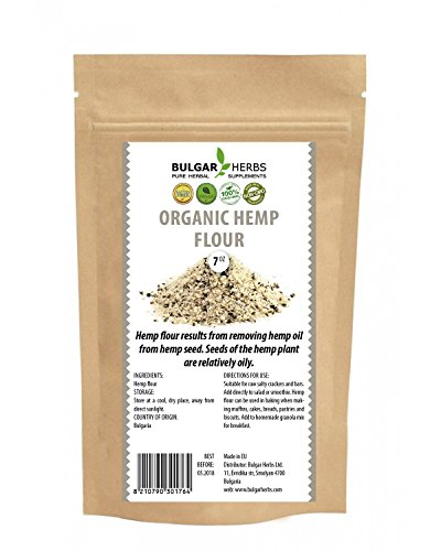 Organic Hemp Flour (Original Bulgarian Bio Product) - 7 Oz.
