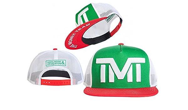 tmt-courtside Juego auténtico colección en campo Fitted Cap gorra Hip Hop Fashion: Amazon.es: Deportes y aire libre