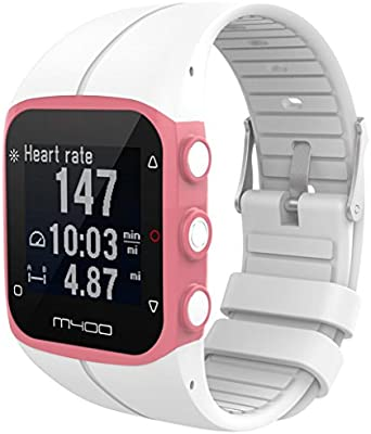 Para reloj polar m400 correas colores bandas de reemplazo suave ...