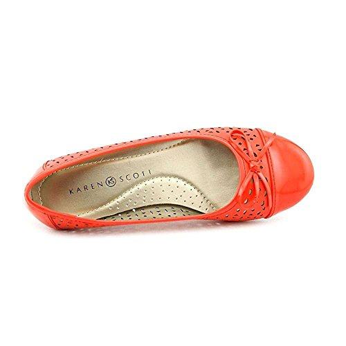 Karen Scott Dames Rylee Ballet Flats, Oranje, Maat 7.5
